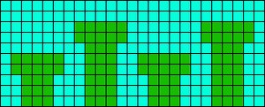 Alpha pattern #12916