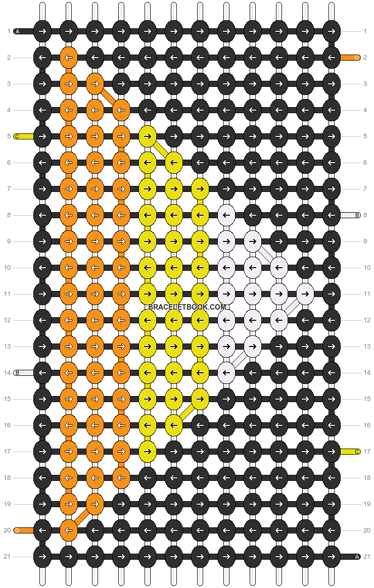 Alpha pattern #12920 pattern