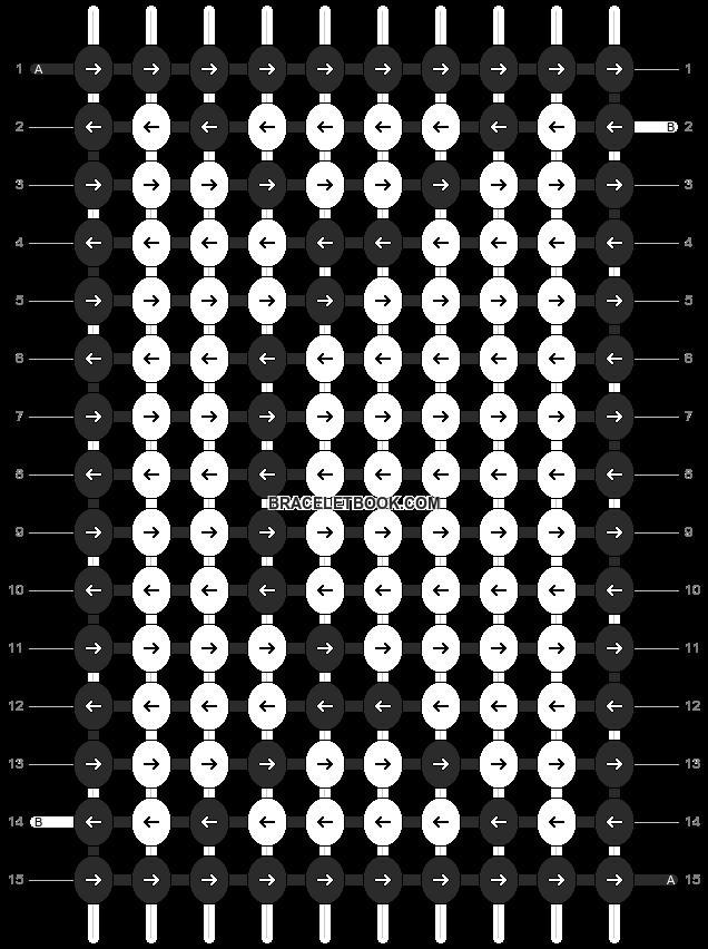 Alpha pattern #12923 pattern