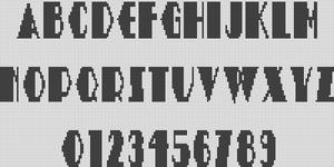 Alpha pattern #12932