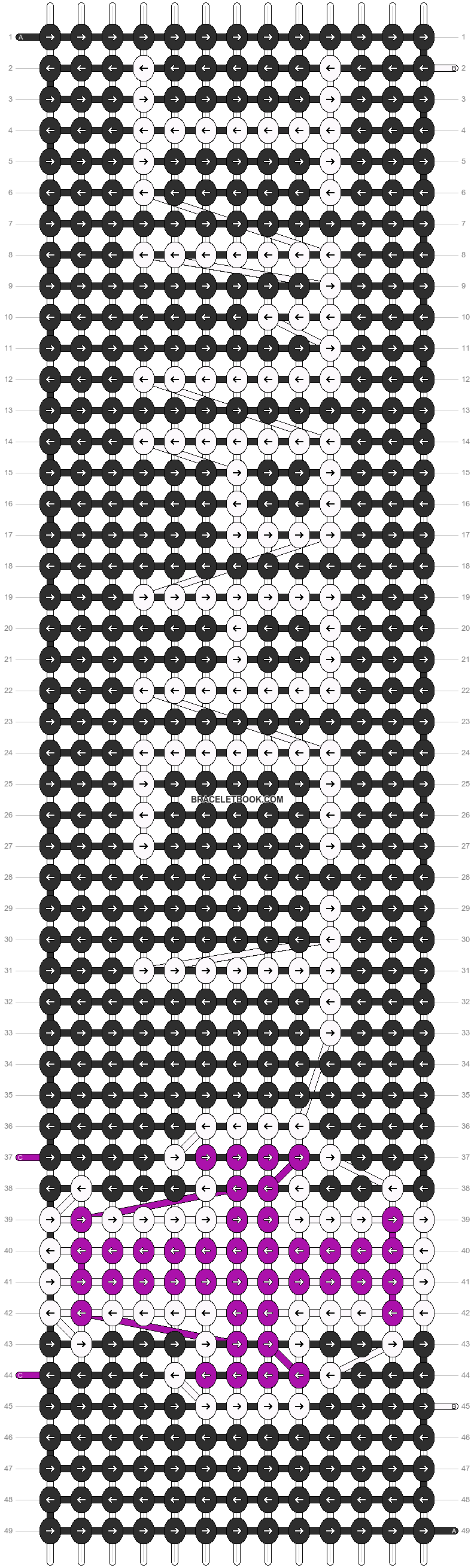 Alpha pattern #12934 pattern