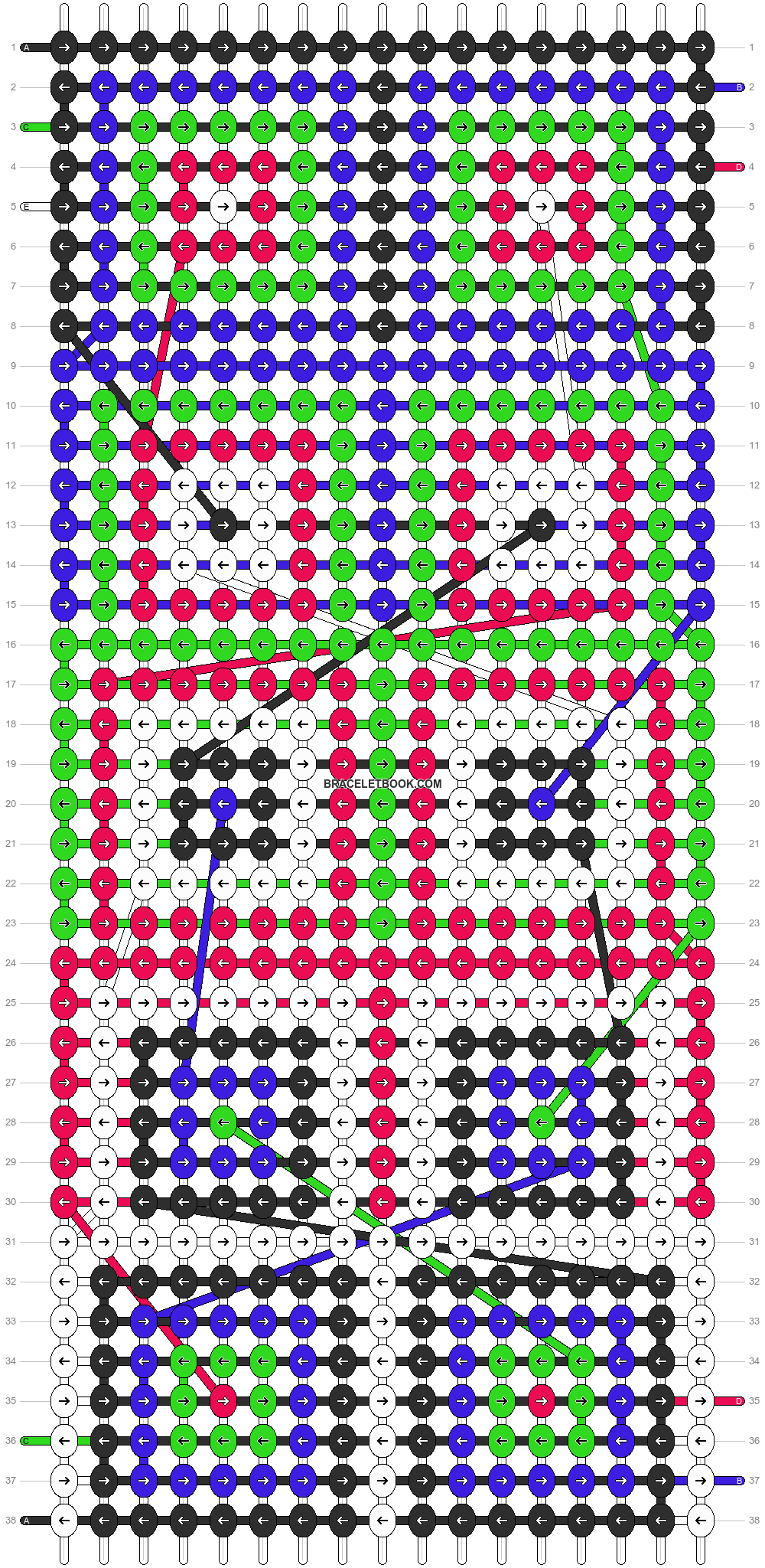 Alpha pattern #12935 pattern