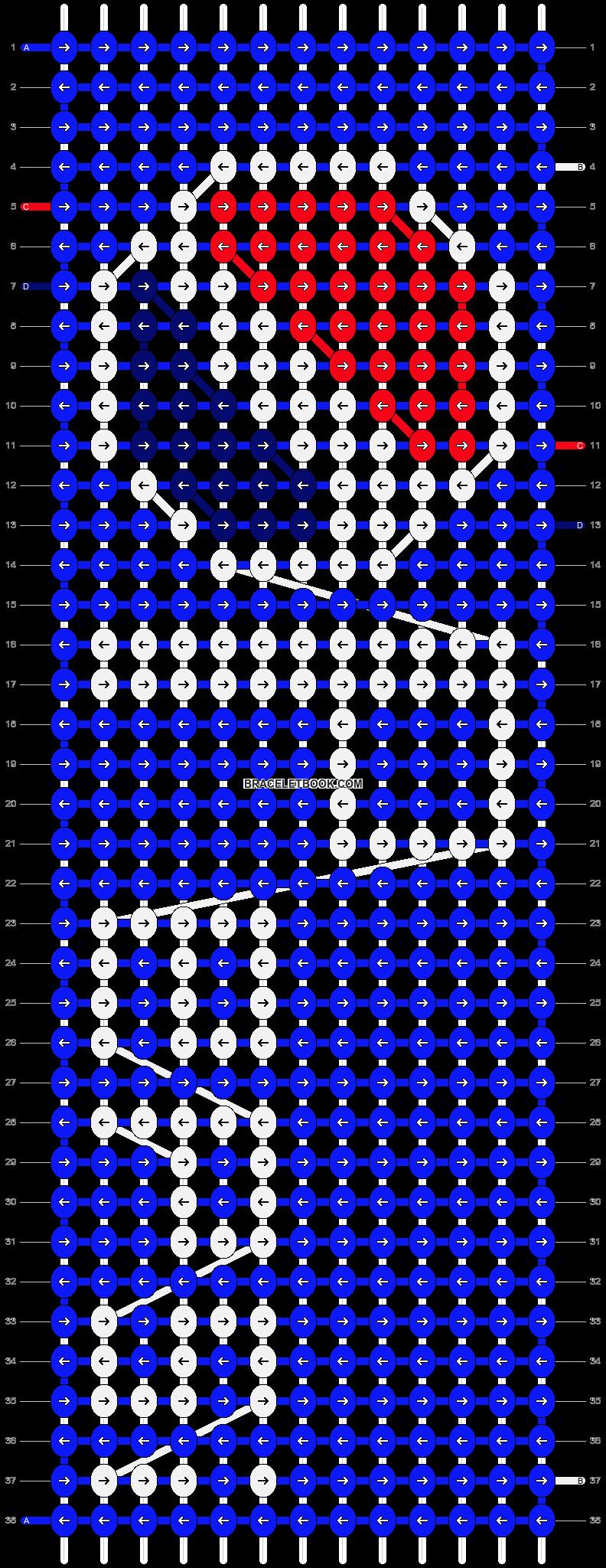 Alpha pattern #12936 pattern