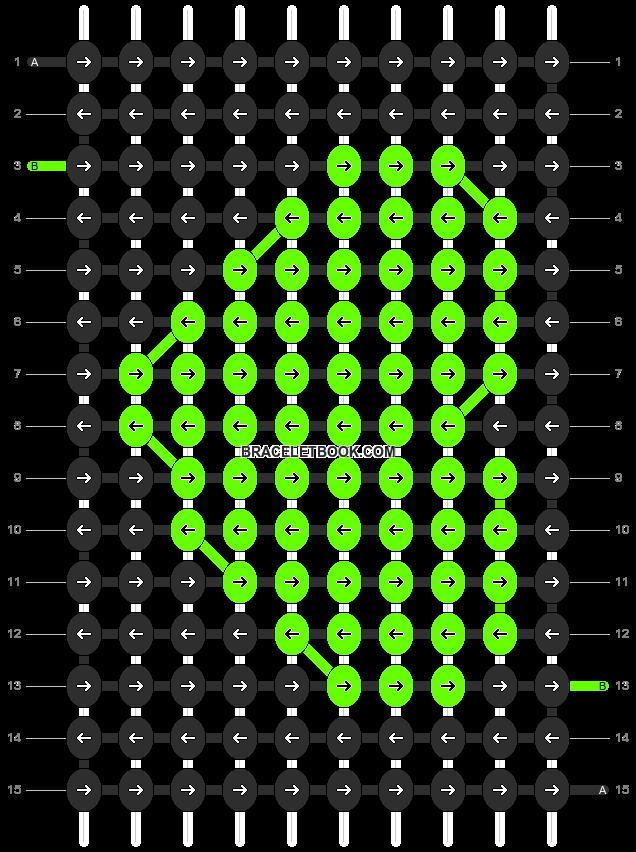 Alpha pattern #12937 pattern