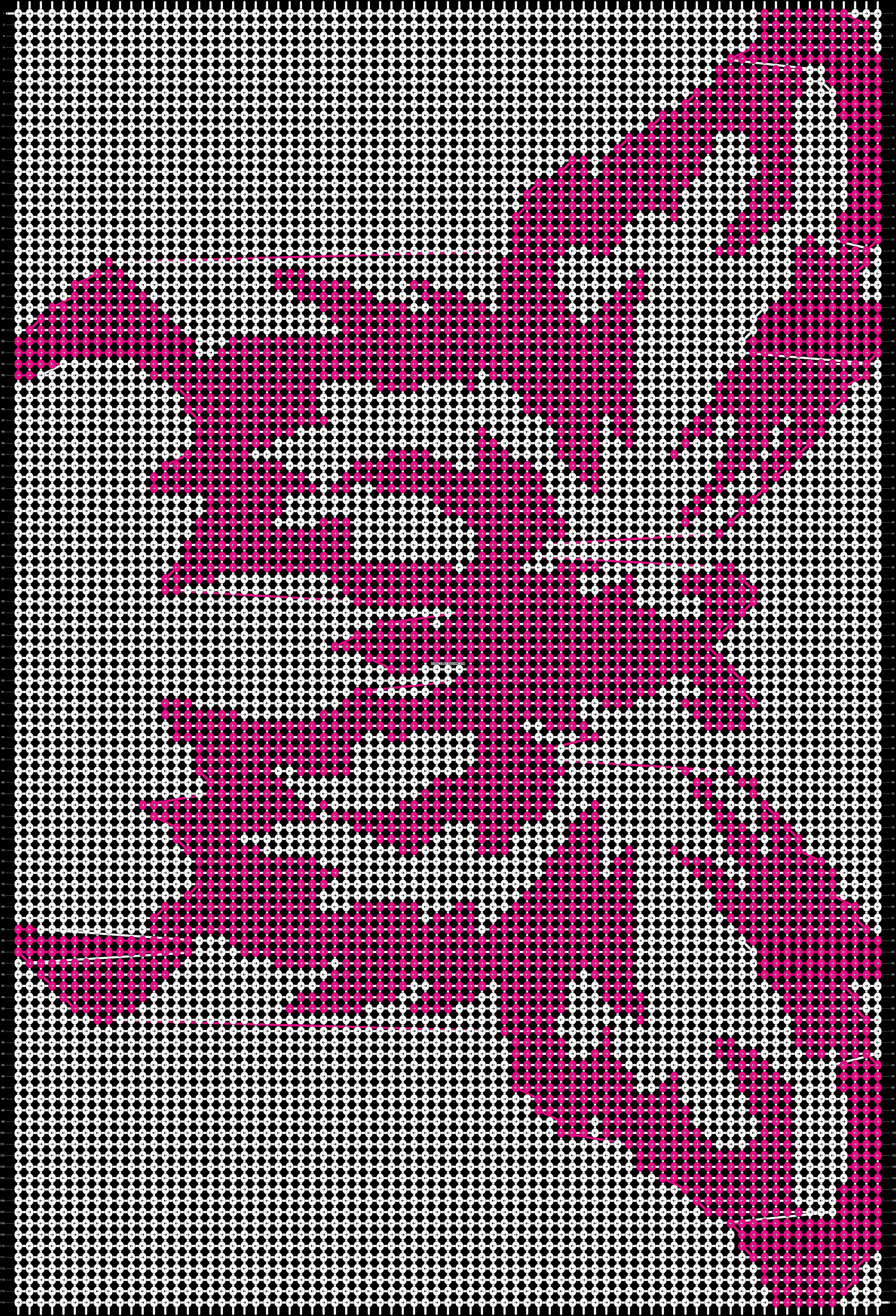 Alpha pattern #12944 pattern