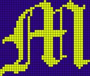 Alpha pattern #12947