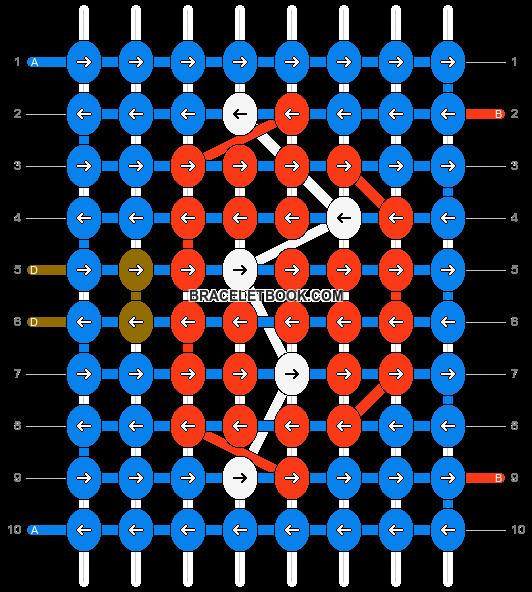 Alpha pattern #12953 pattern