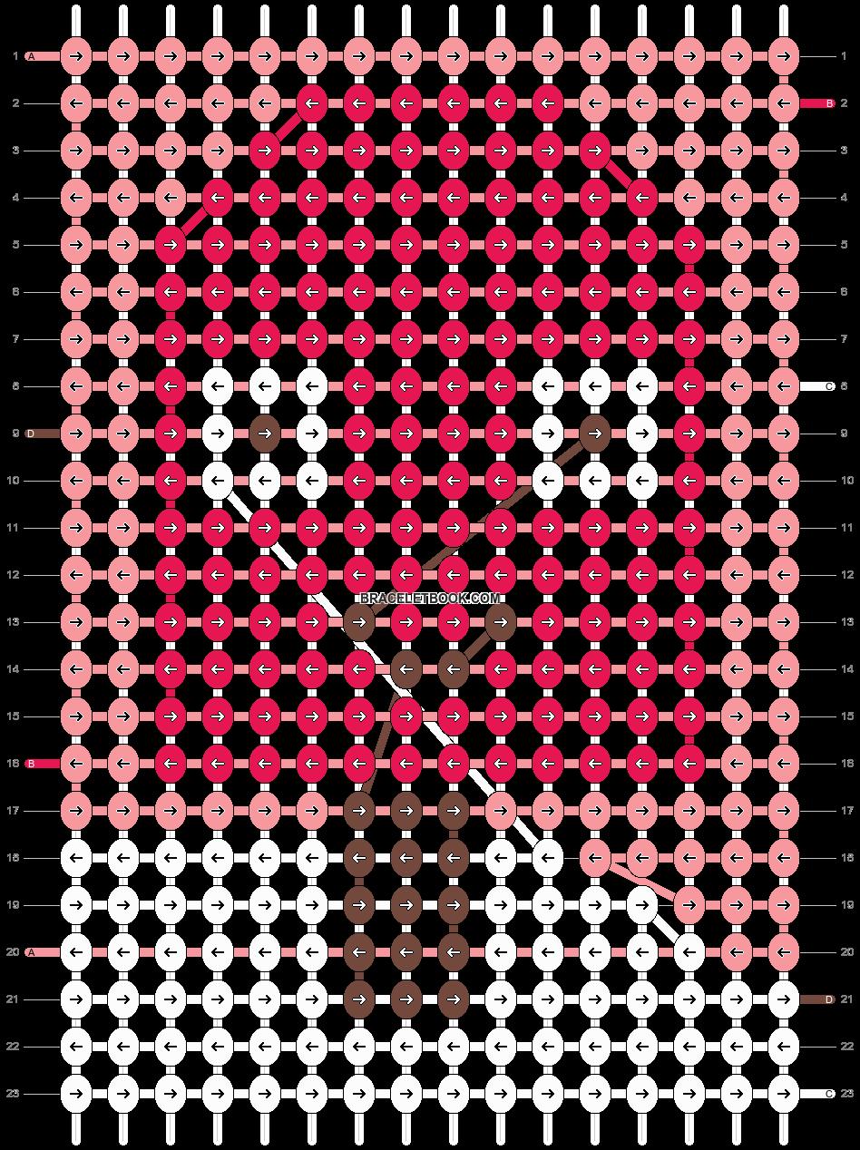 Alpha pattern #12962 pattern