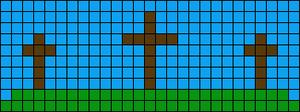 Alpha Friendship Bracelet Pattern #12963