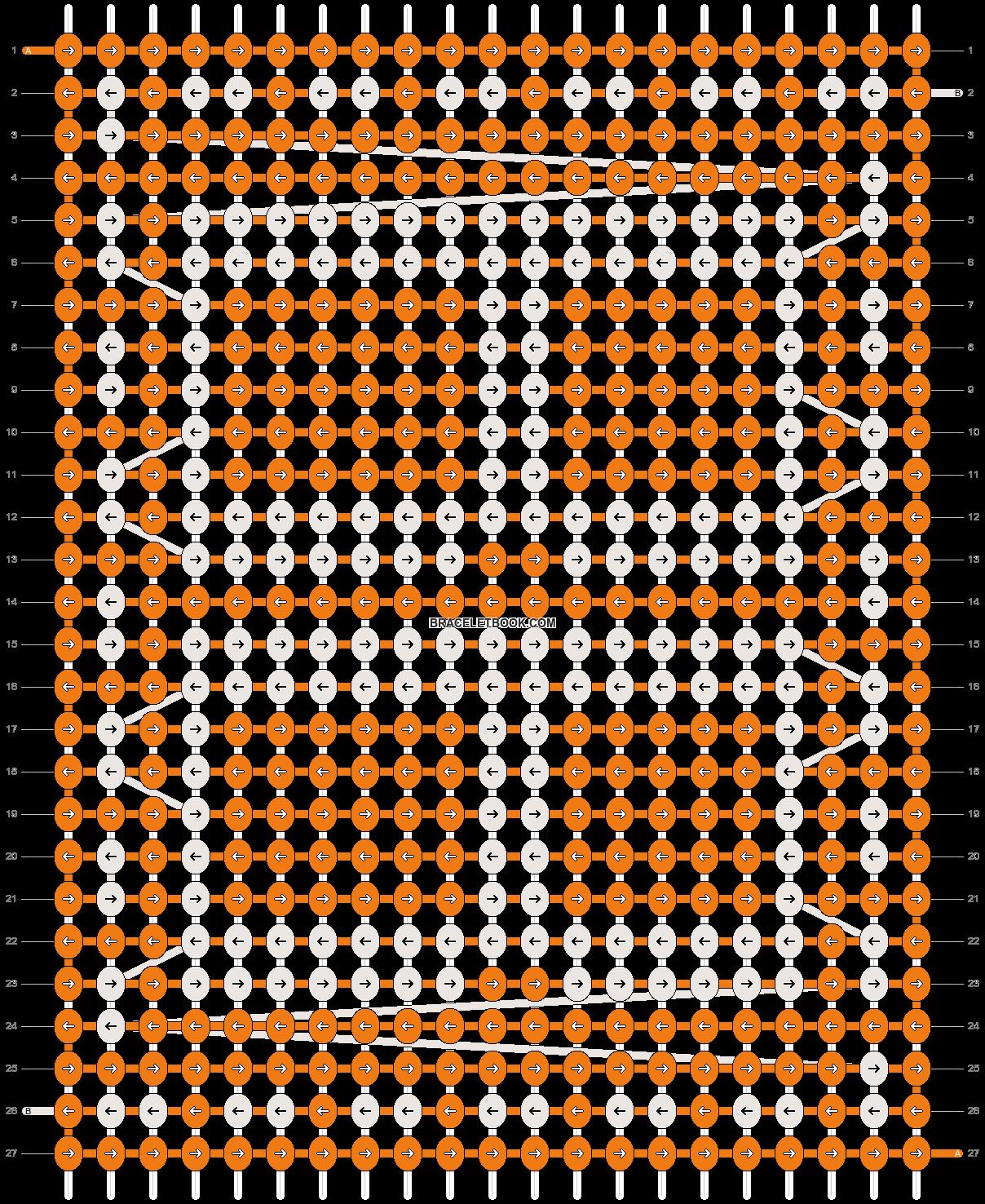 Alpha pattern #12964 pattern
