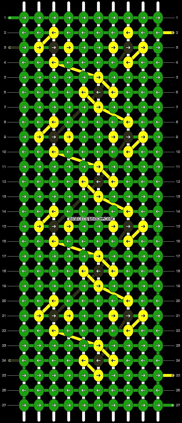 Alpha pattern #12969 pattern