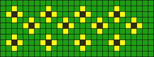 Alpha Friendship Bracelet Pattern #12969