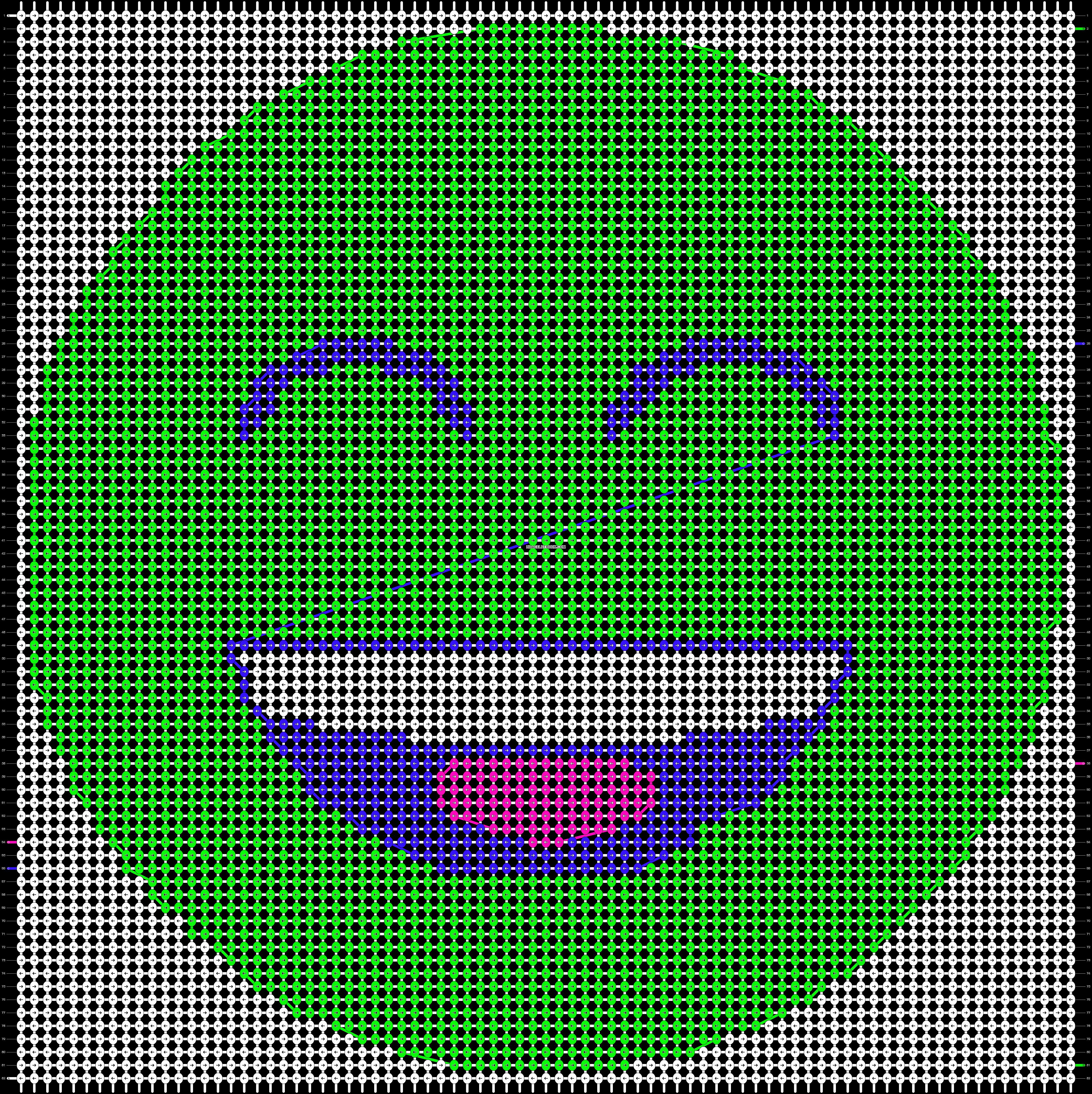 Alpha pattern #12971 pattern