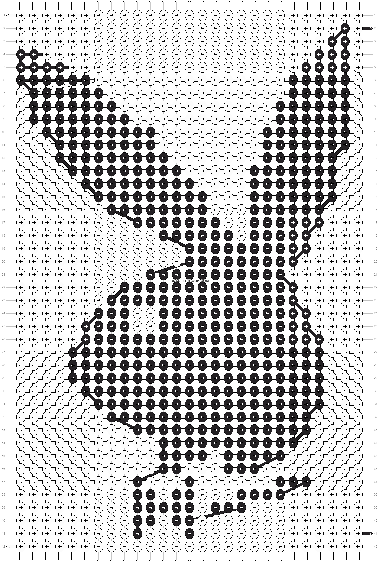 Alpha pattern #12977 pattern