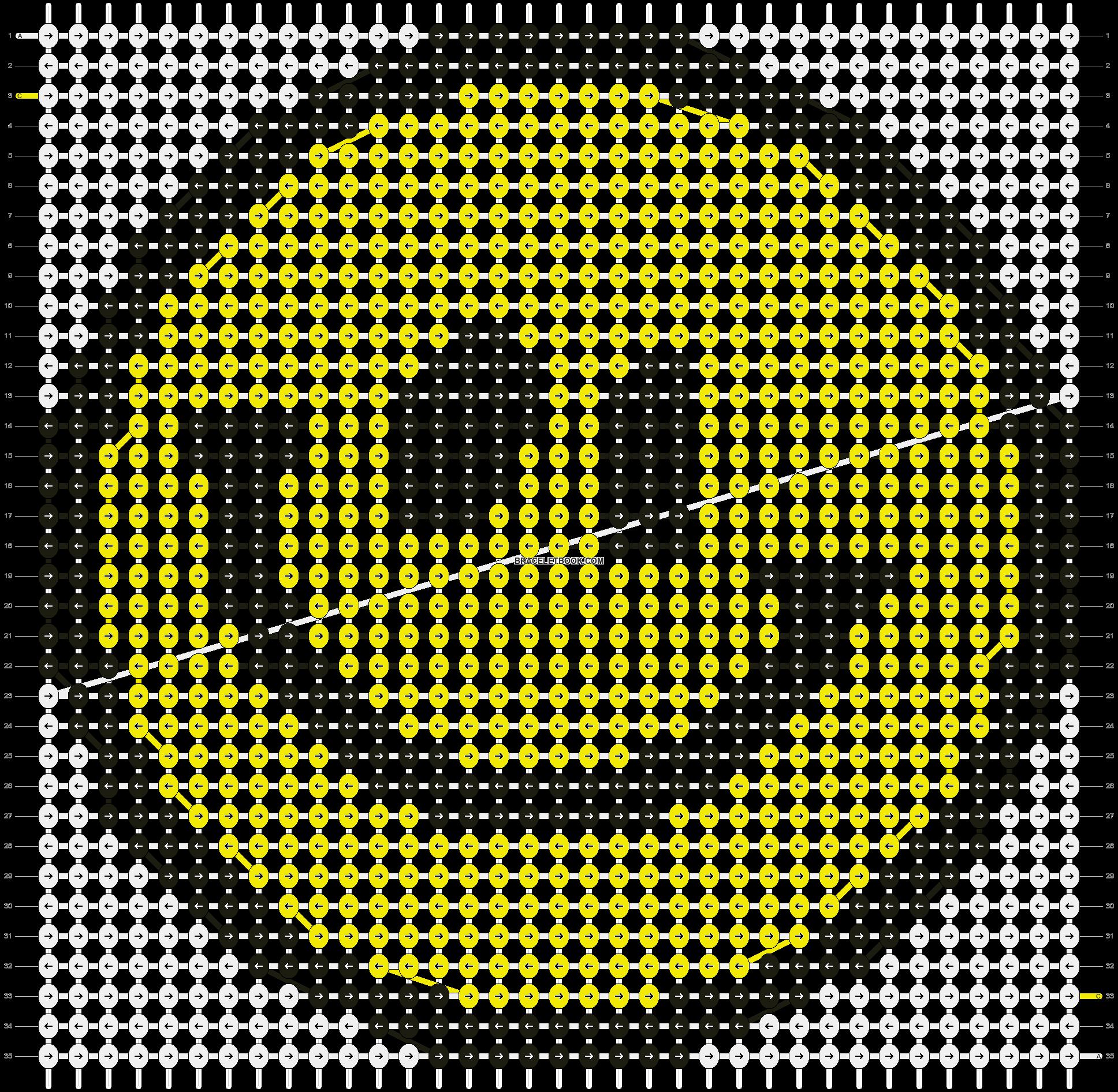 Alpha pattern #12981 pattern