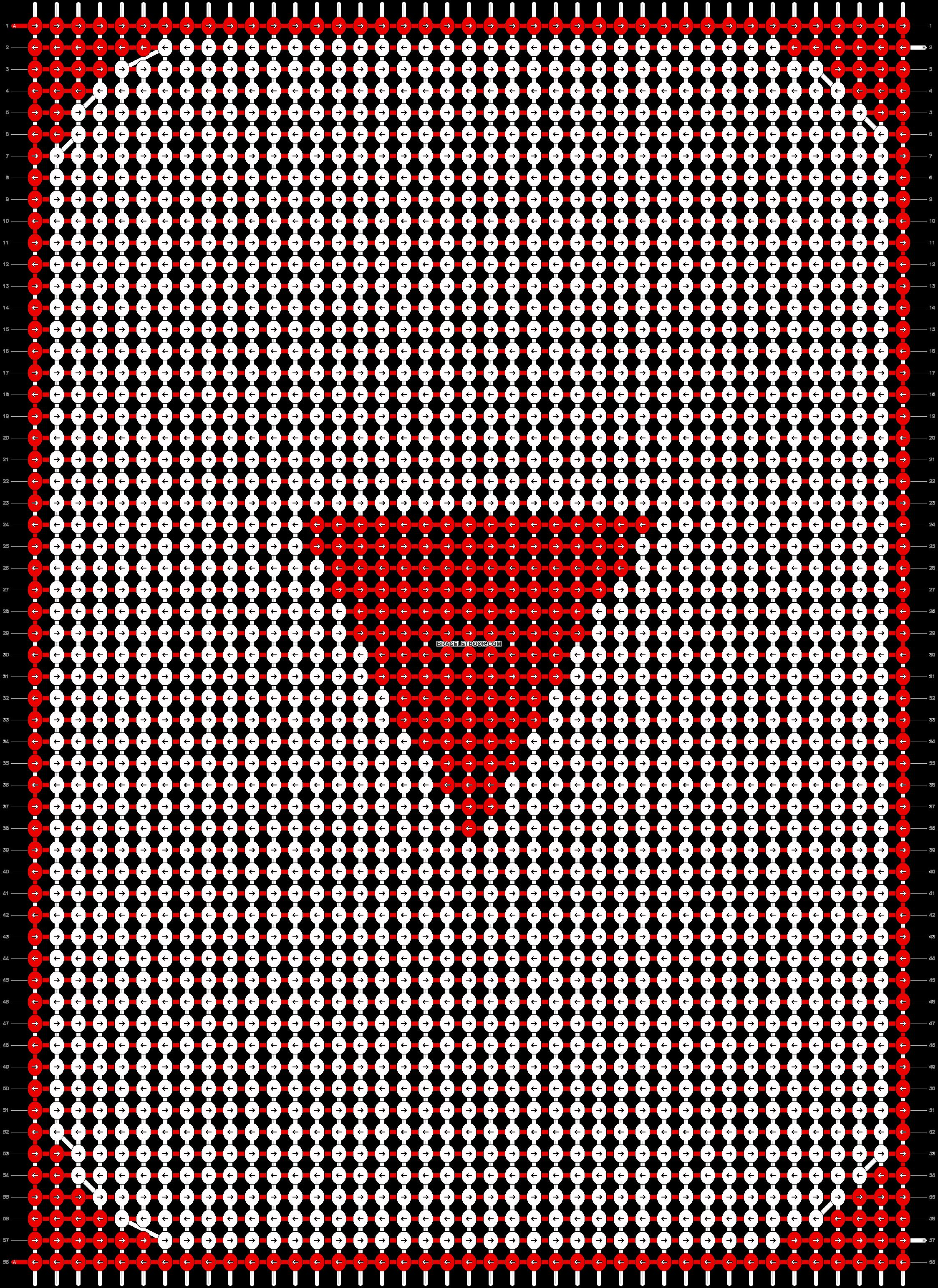 Alpha pattern #12986 pattern