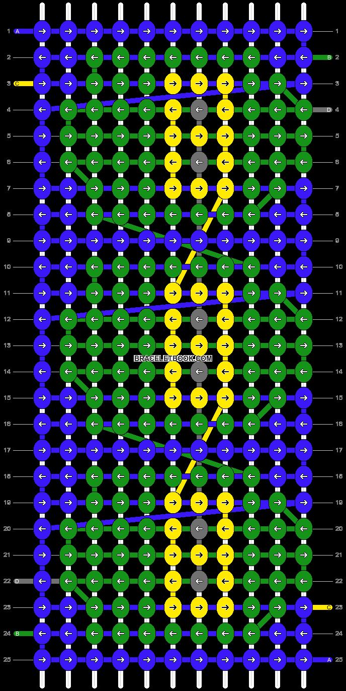 Alpha pattern #12989 pattern