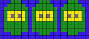 Alpha pattern #12989