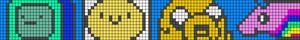 Alpha pattern #12992