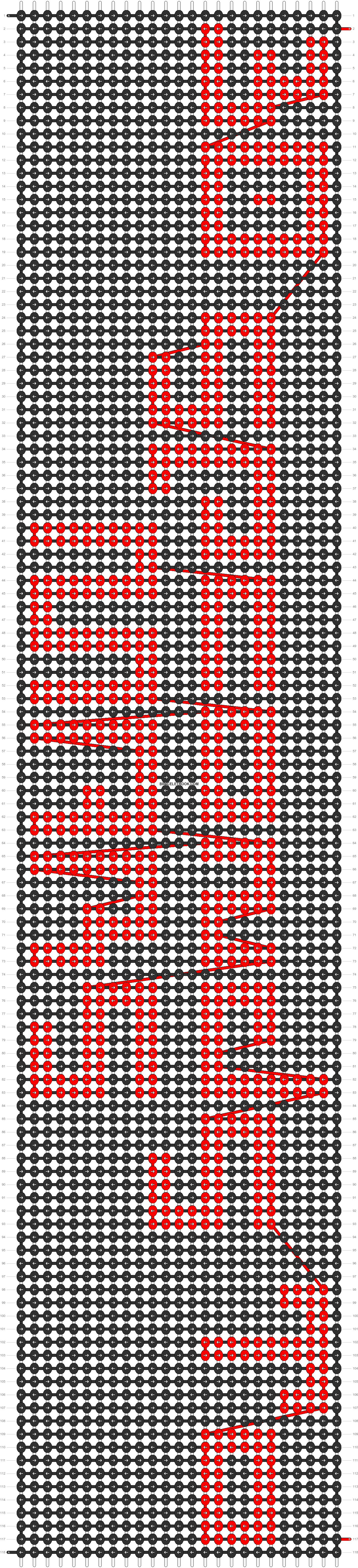 Alpha pattern #12996 pattern