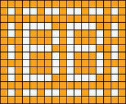 Alpha pattern #13000