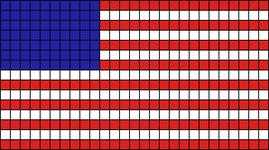 Alpha pattern #13006