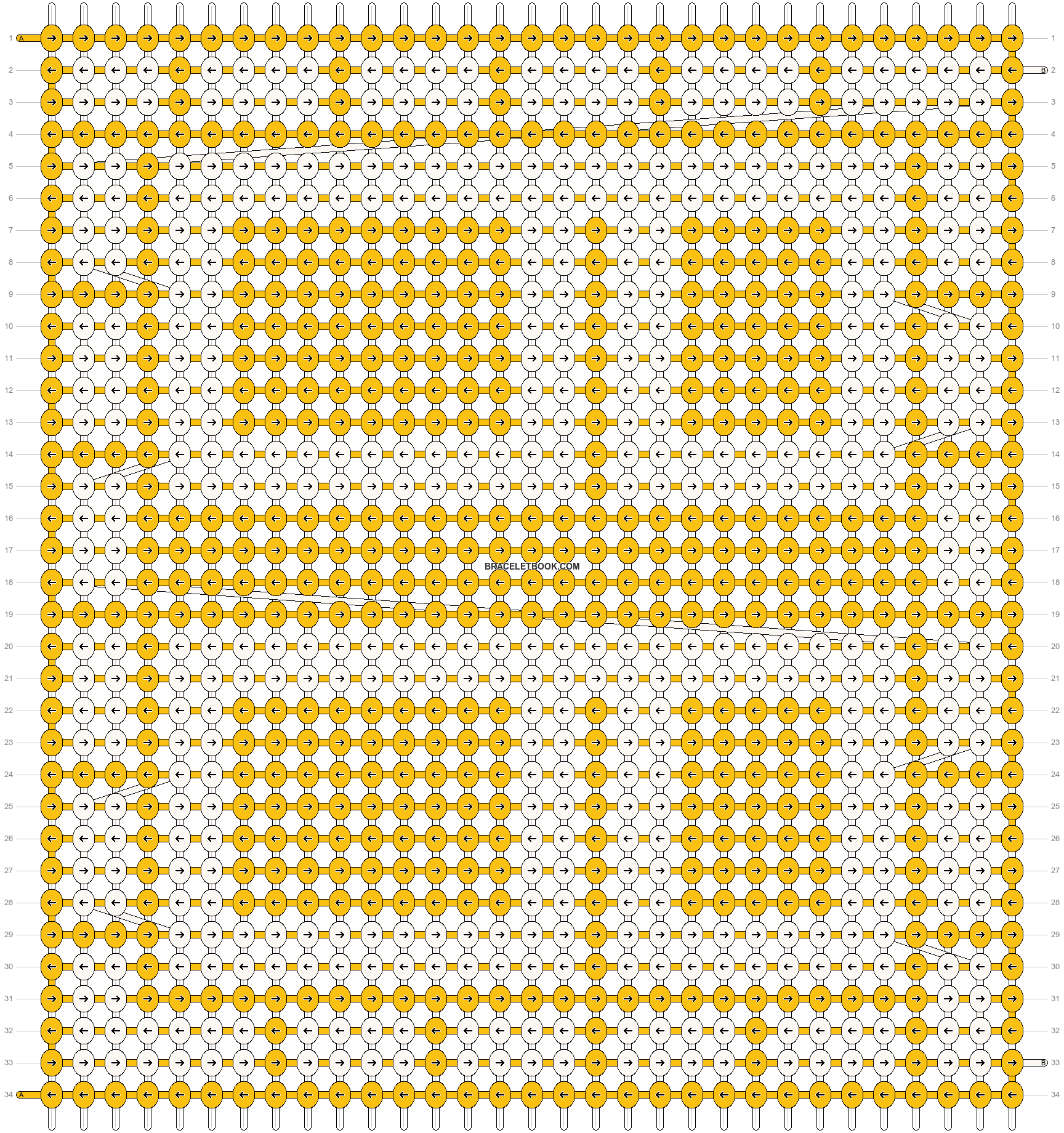 Alpha pattern #13007 pattern