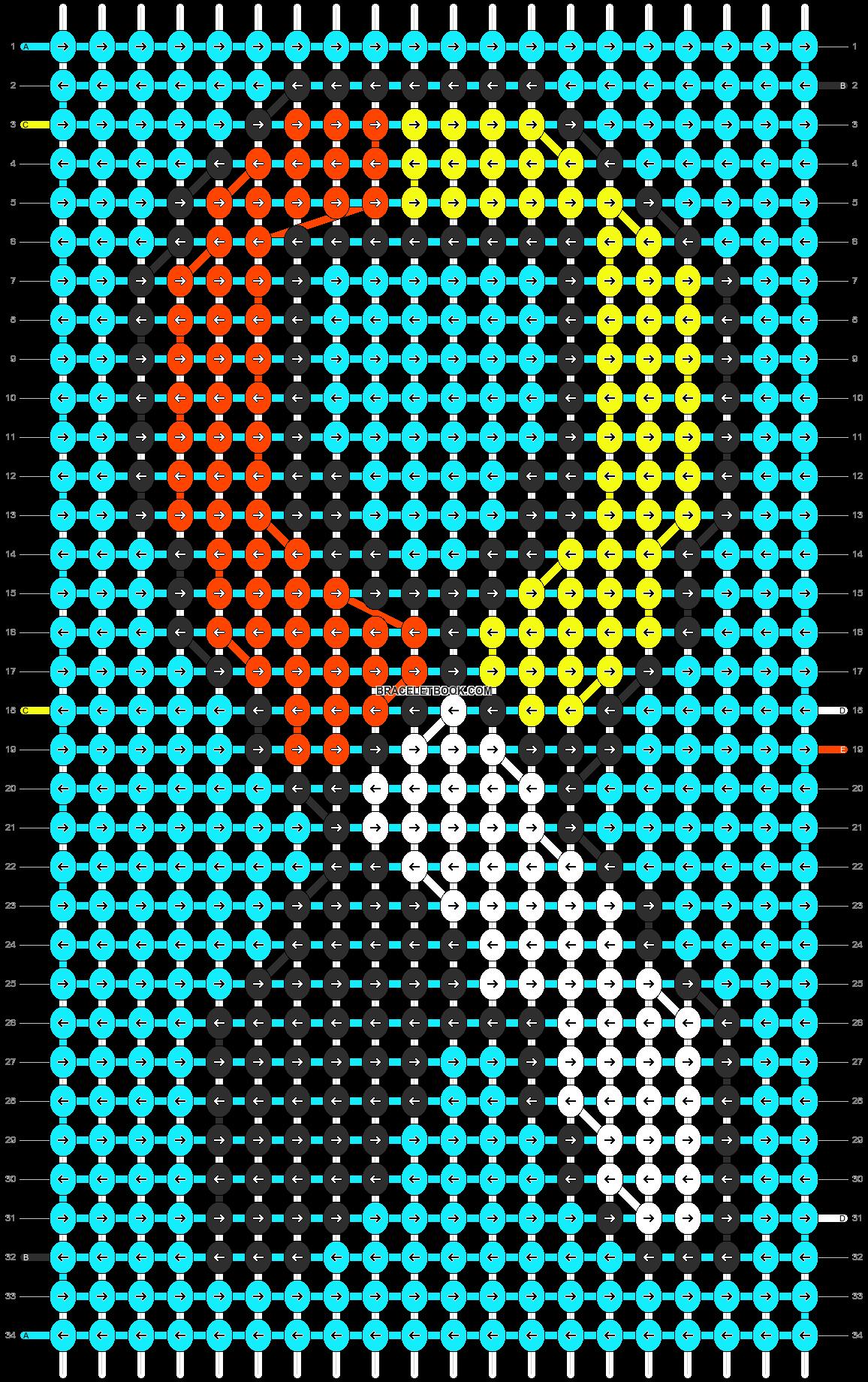 Alpha pattern #13014 pattern