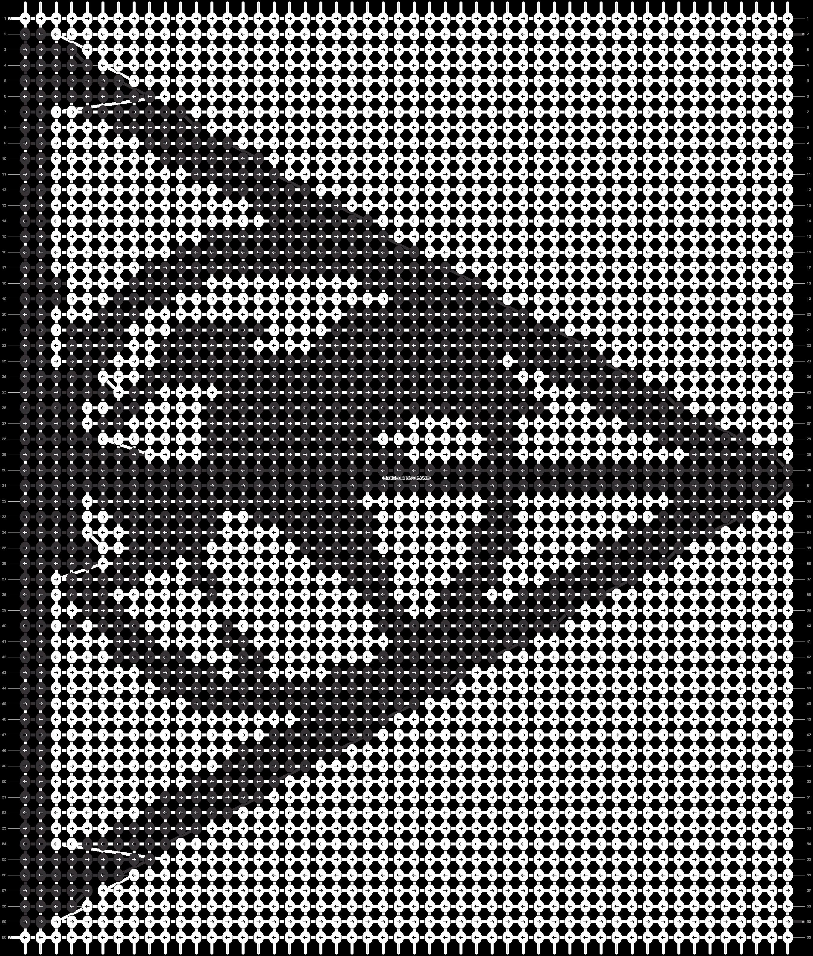 Alpha pattern #13016 pattern