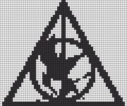 Alpha pattern #13016