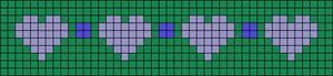 Alpha Friendship Bracelet Pattern #13017