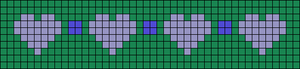 Alpha pattern #13017
