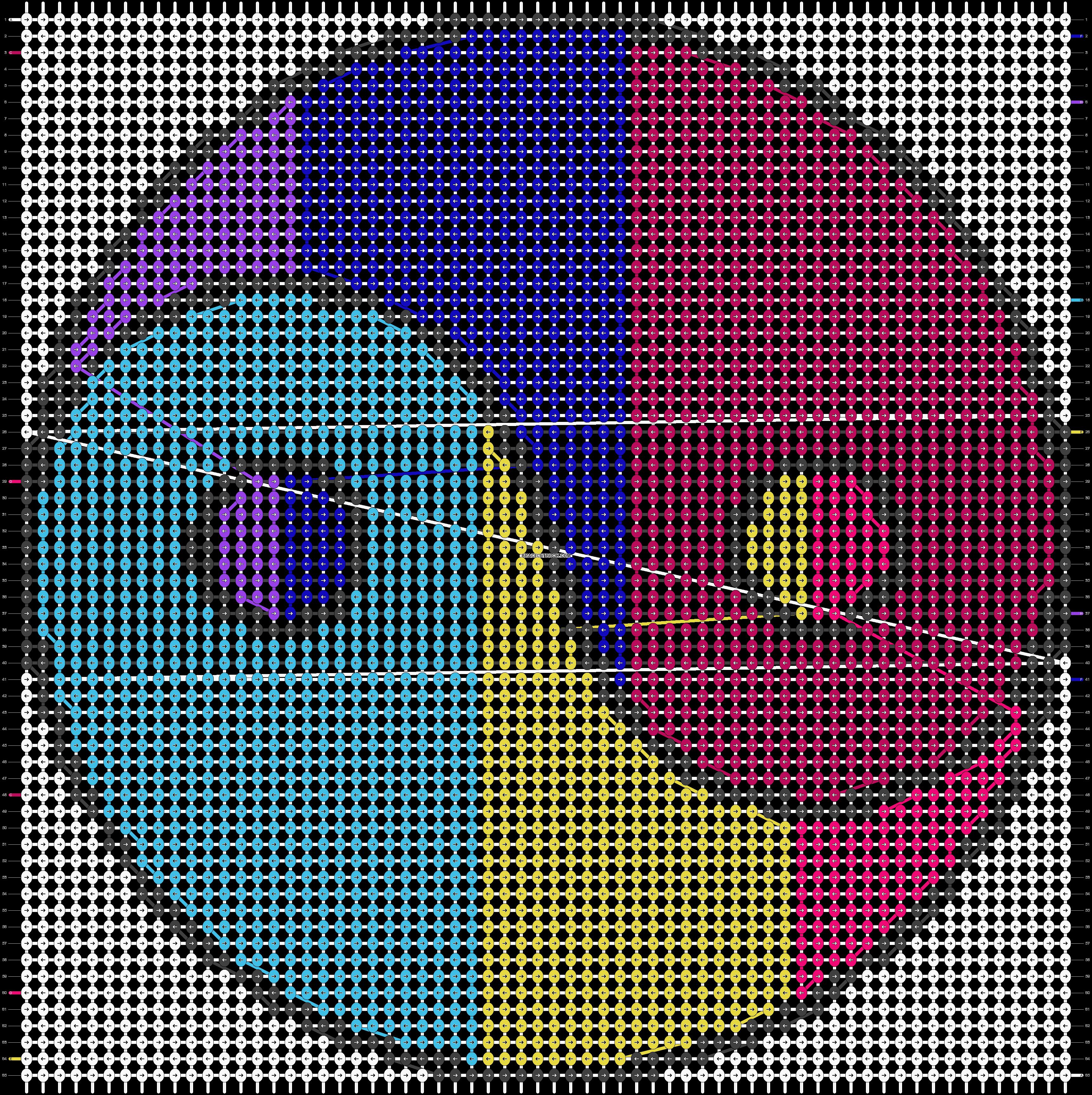 Alpha pattern #13024 pattern