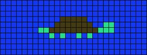 Alpha Friendship Bracelet Pattern #13025