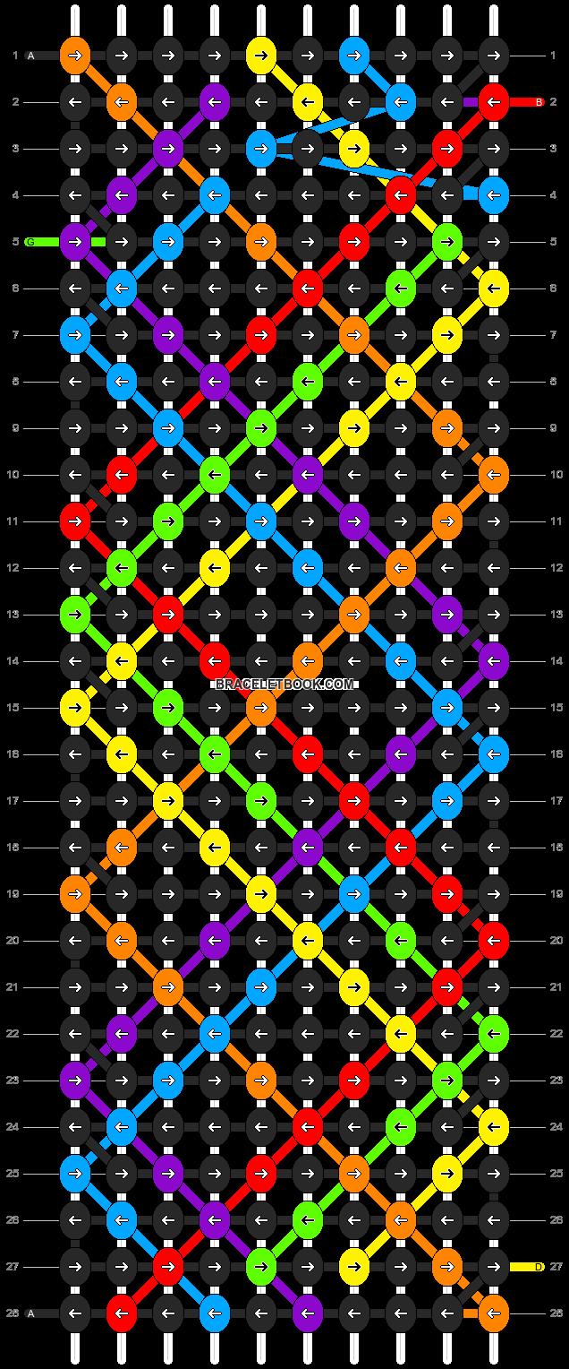 Alpha pattern #13035 pattern