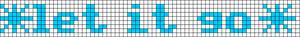 Alpha pattern #13036