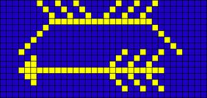 Alpha pattern #13040