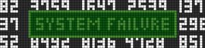 Alpha Friendship Bracelet Pattern #13045