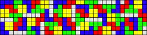Alpha Friendship Bracelet Pattern #13064