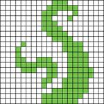 Alpha pattern #13066