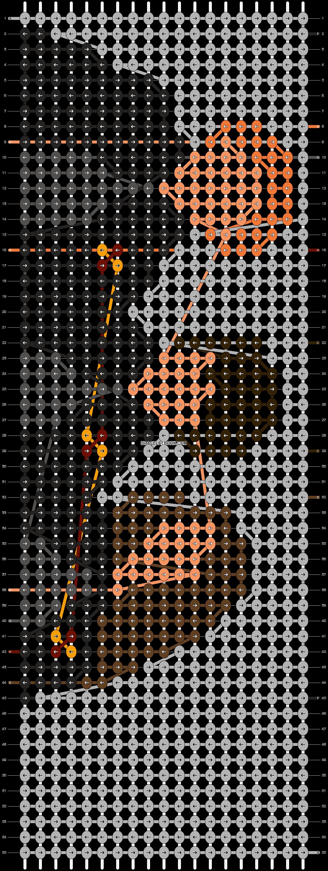 Alpha pattern #13068 pattern