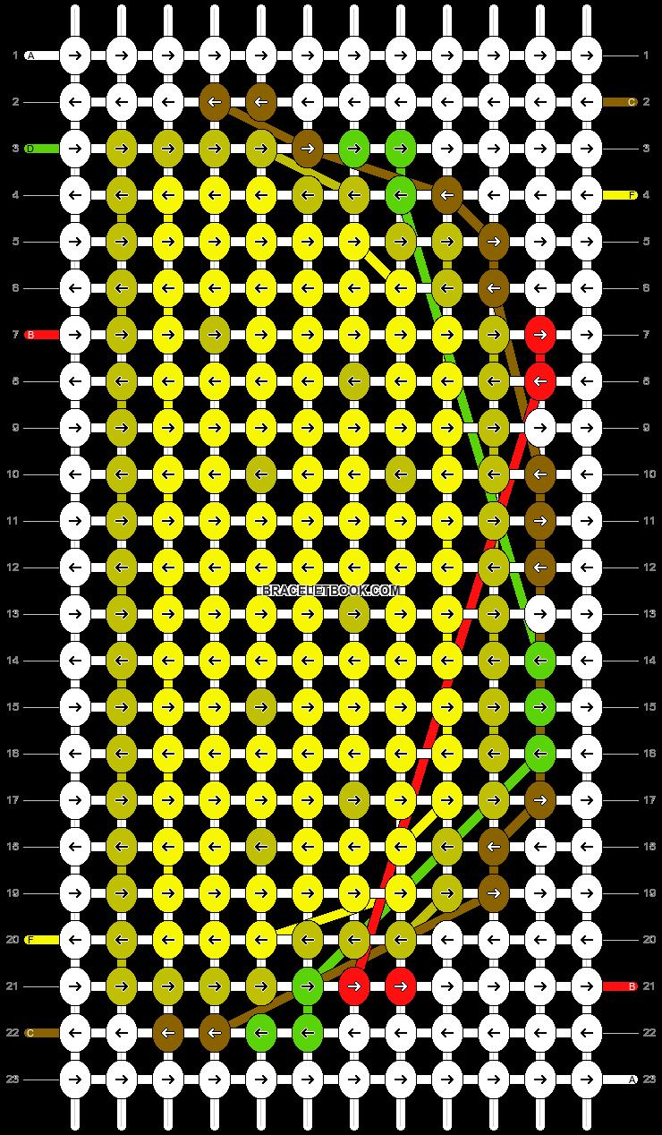 Alpha pattern #13070 pattern