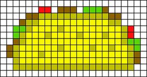 Alpha Friendship Bracelet Pattern #13070