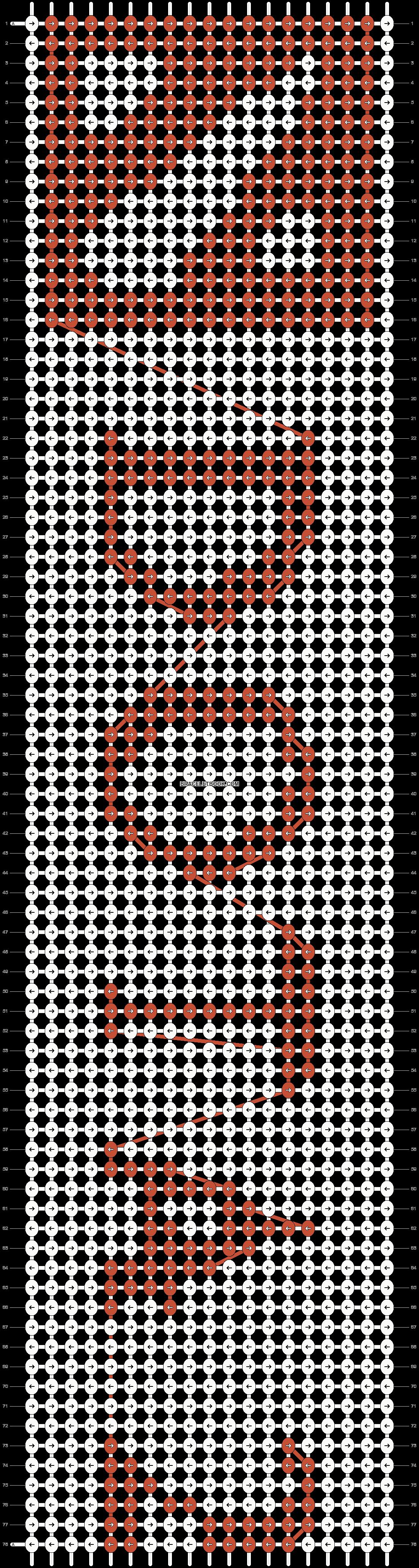 Alpha pattern #13080 pattern