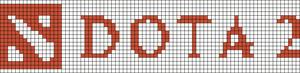Alpha pattern #13080