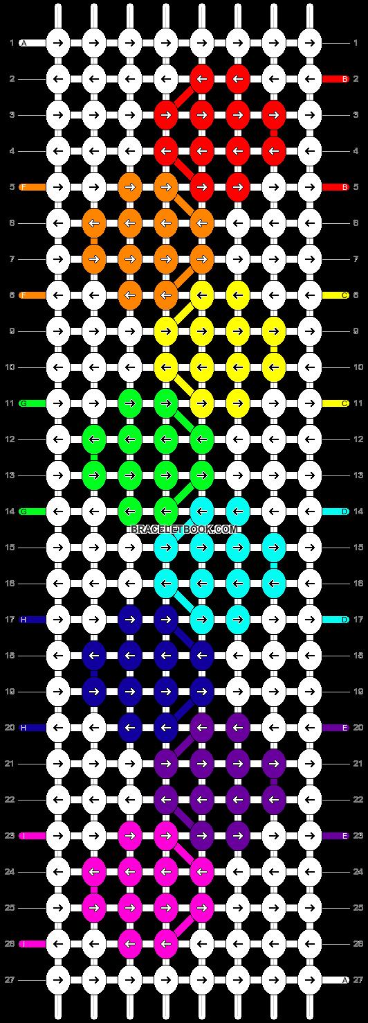 Alpha pattern #13081 pattern