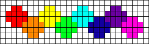 Alpha Friendship Bracelet Pattern #13081