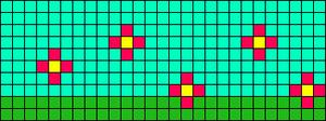 Alpha pattern #13083