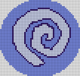 Alpha pattern #13086