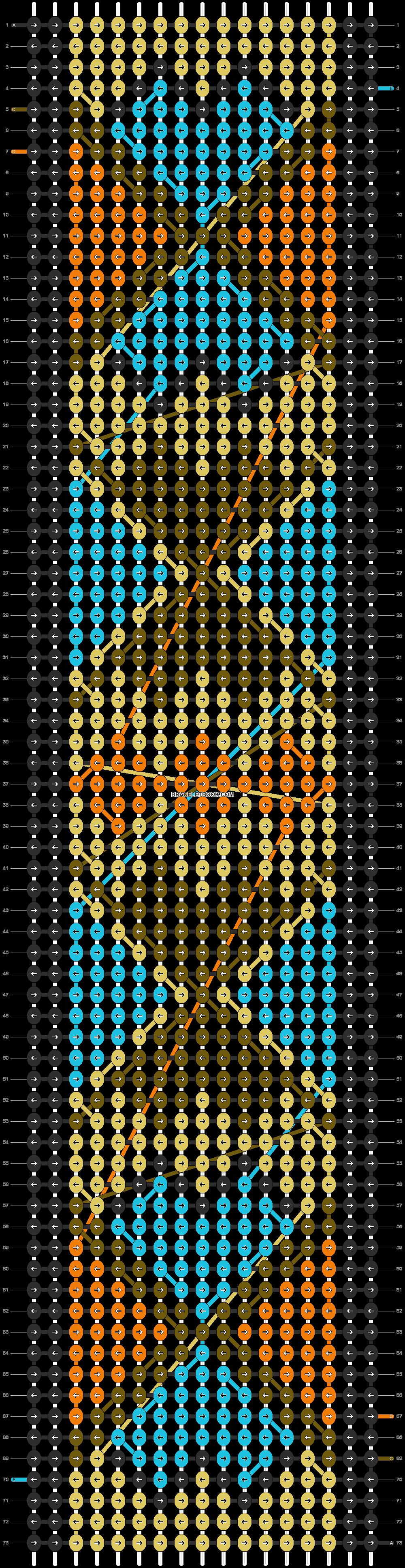 Alpha pattern #13093 pattern
